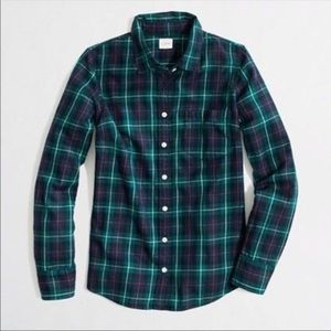 J. Crew perfect flannel size 6